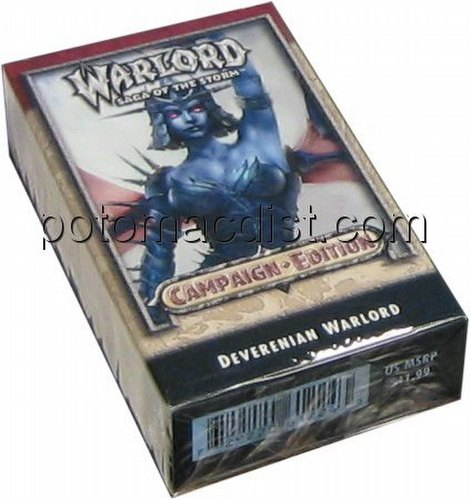 Warlord CCG: Campaign Edition Deverenian Starter Deck