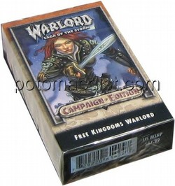 Warlord CCG: Campaign Edition Free Kingdoms Starter Deck