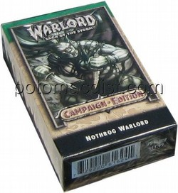 Warlord CCG: Campaign Edition Nothrog Starter Deck