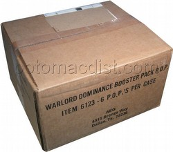 Warlord CCG: Dominance Booster Box Case [6 boxes]