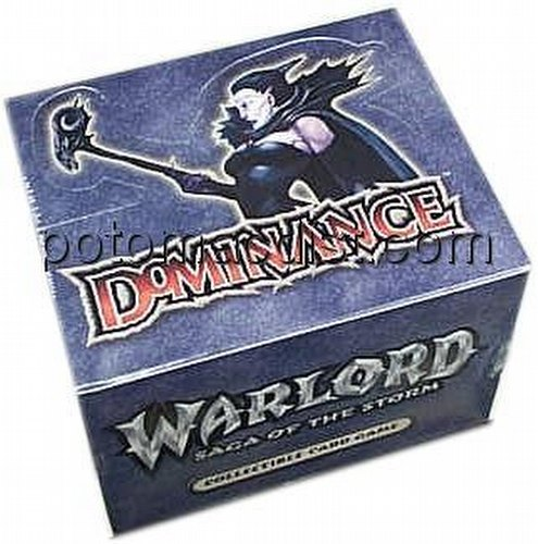 Warlord CCG: Dominance Starter Deck Box