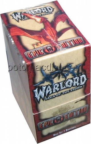 Warlord CCG: Epic Edition Booster Box