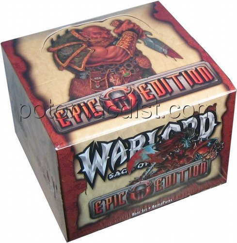 Warlord CCG: Epic Edition Battle Pack Box