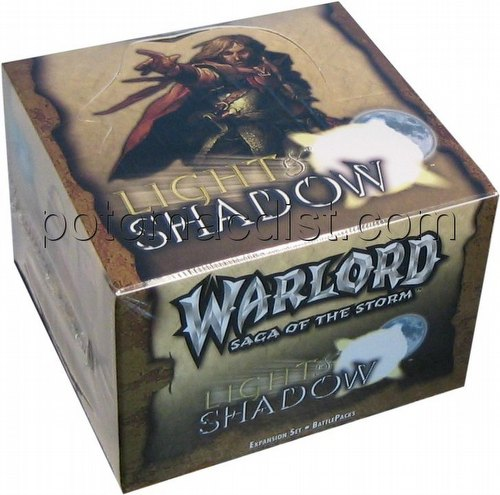 Warlord CCG: Light & Shadow Battle Pack Box