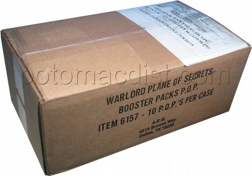 Warlord CCG: Plane of Secrets Booster Box Case [10 boxes]