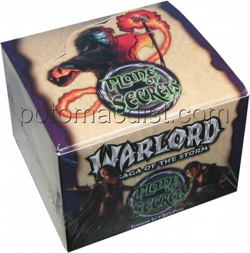 Warlord CCG: Plane of Secrets Battle Pack Box