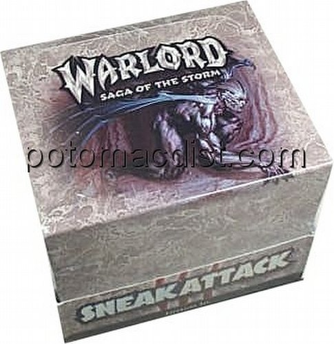 Warlord CCG: Sneak Attack Starter Deck Box