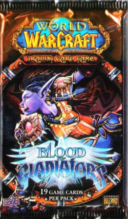 World of Warcraft TCG: Blood of Gladiators Booster Pack