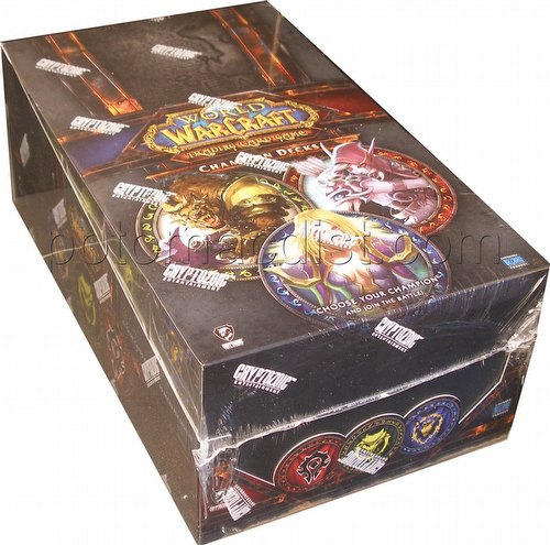 World of Warcraft Trading Card Game [TCG]: 2012 Champions Starter Deck Box