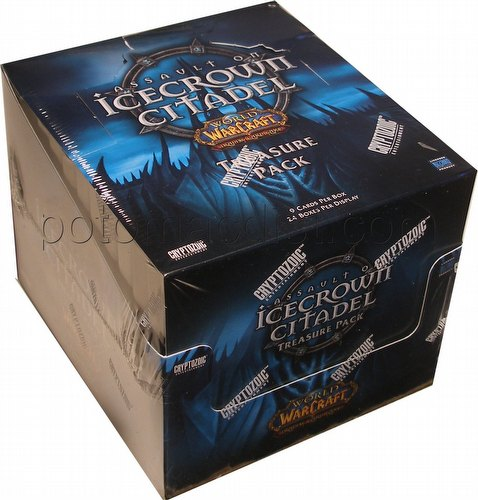 World of Warcraft TCG: Assault on Icecrown Citadel Treasure Pack Box