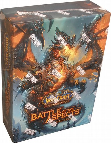 World of Warcraft Trading Card Game [TCG]: Battle of the Aspects Raid Deck