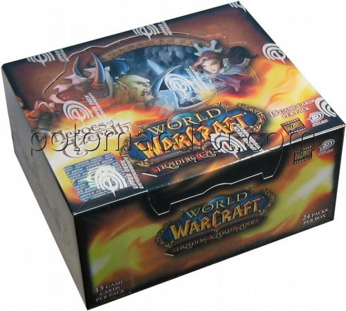 World of Warcraft Trading Card Game [TCG]: Heroes of Azeroth Booster Box