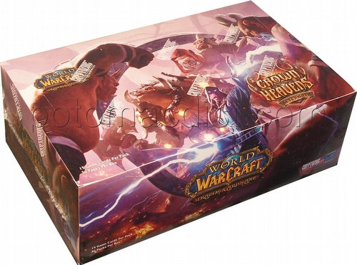 World of Warcraft Trading Card Game [TCG]: Aftermath - Crown of the Heavens Booster Box