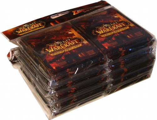 World of Warcraft Trading Card Game [TCG]: Deathwing Deck Protectors [5 packs]