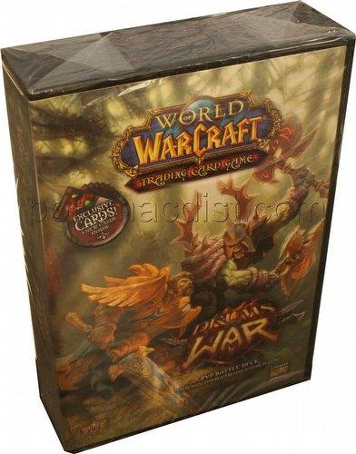 World of Warcraft TCG: Drums of War PVP Battle Deck