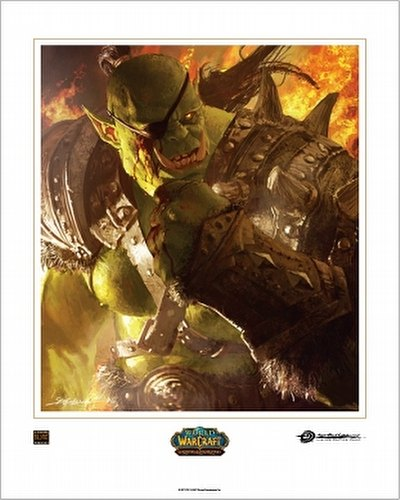 World of Warcraft Trading Card Game [TCG]: The Horde Boxed Art Card Set