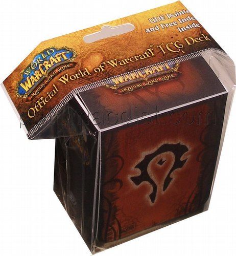 World of Warcraft Trading Card Game [TCG]: Horde Deck Box
