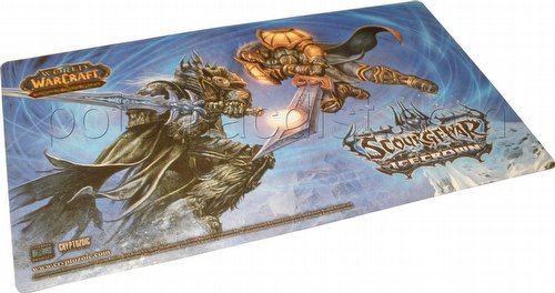 World of Warcraft Trading Card Game [TCG]: Scourgewar Icecrown Play Mat