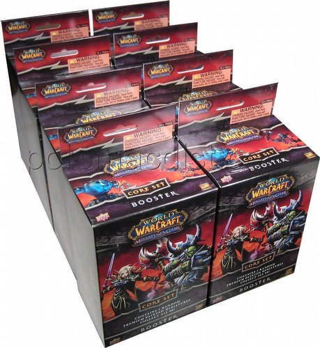 World of Warcraft Miniatures: Core Set Booster Half Case [8 boosters]