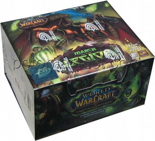 World of Warcraft Trading Card Game [TCG]: March of the Legion Booster Box