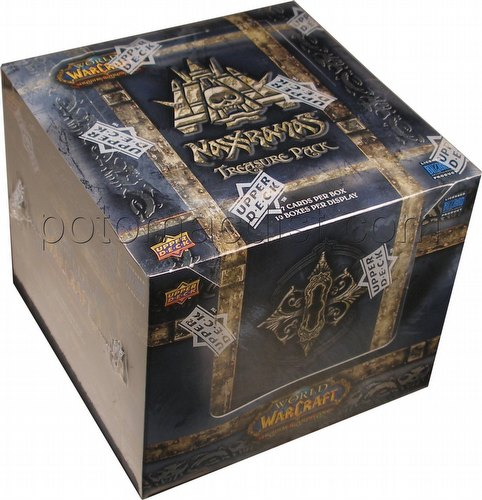 World of Warcraft Trading Card Game [TCG]: Naxxramas Treasure Pack Box