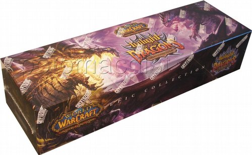 World of Warcraft Trading Card Game [TCG]: Twilight of the Dragons Epic Collection Box