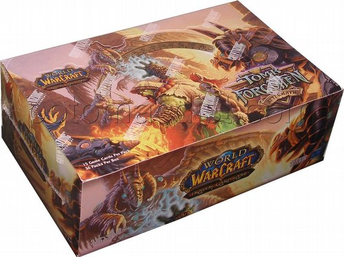 World of Warcraft TCG: Aftermath - Tomb of the Forgotten Booster Box