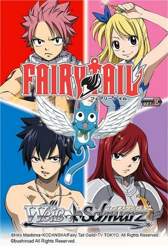 Weiss Schwarz (WeiB Schwarz): Fairy Tail Ver. E Booster Box Case [English/16 boxes]