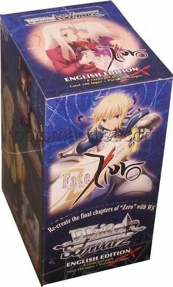 Weiss Schwarz (WeiB Schwarz): Fate/Zero Booster Box [English]