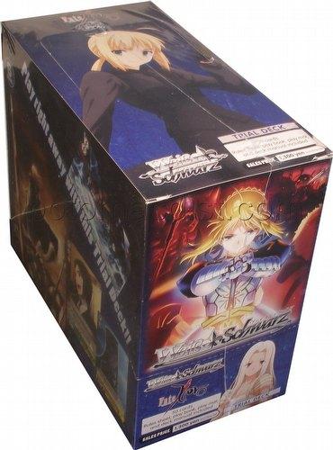 Weiss Schwarz (WeiB Schwarz): Fate/Zero Trial Deck Box [English]