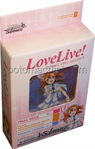 Weiss Schwarz (WeiB Schwarz): Love Live! Trial Deck [English]