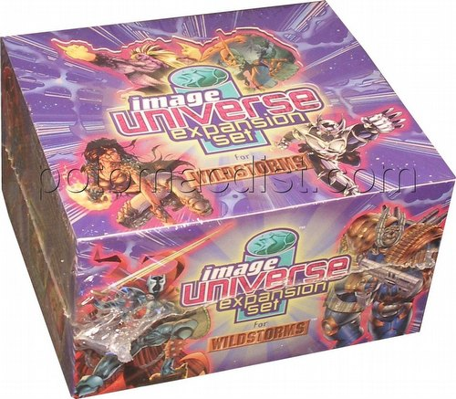 Wildstorms: Collectible Card Game Image Universe Booster Box