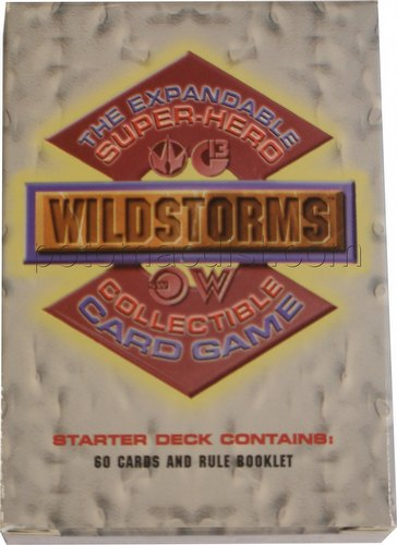Wildstorms Collectible Card Game Starter Deck [Limited Edition]