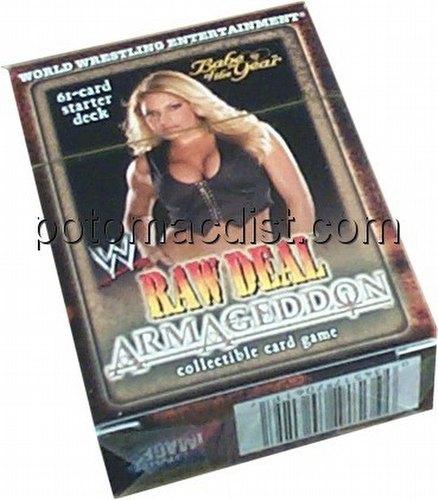 Raw Deal CCG: Armageddon Babe of the Year (Trish Stratus) Starter Deck