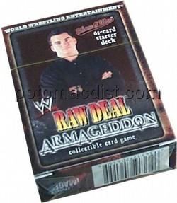 Raw Deal CCG: Armageddon Shelton Benjamin Starter Deck