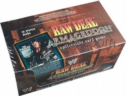 Raw Deal CCG: Armageddon Starter Deck Box