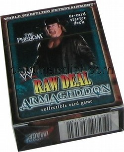 Raw Deal CCG: Armageddon The Phenom Starter Deck