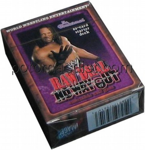 Raw Deal CCG: No Way Out Bookerman Starter Deck