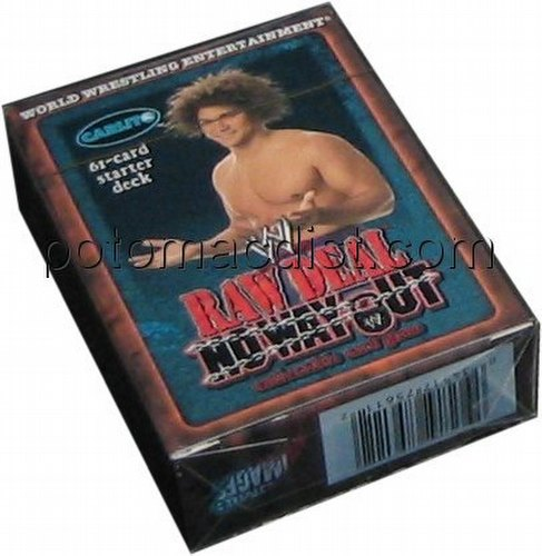 Raw Deal CCG: No Way Out Carlito Starter Deck