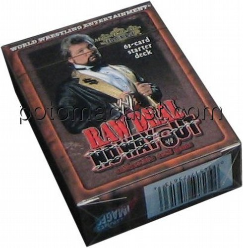 Raw Deal CCG: No Way Out Million Dollar Man Starter Deck