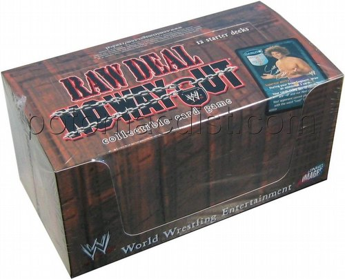Raw Deal CCG: No Way Out Starter Deck Box