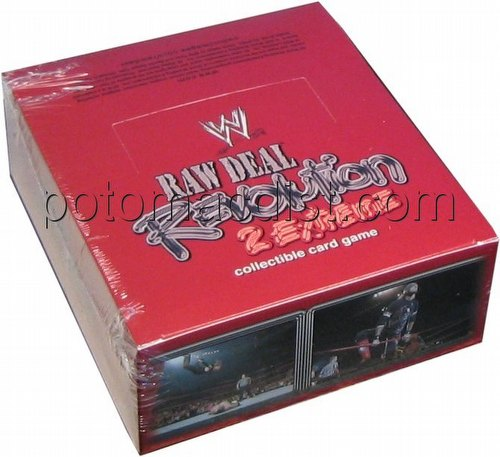 Raw Deal CCG: Revolution 2 Extreme Booster Box