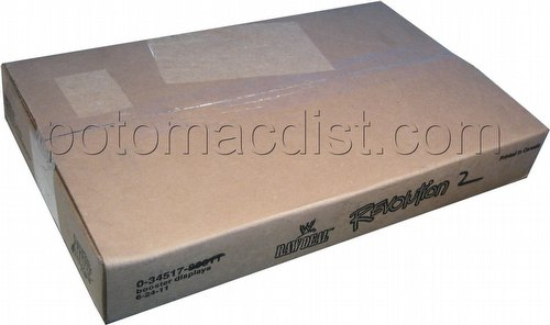 Raw Deal CCG: Revolution 2 Extreme Booster Box Case [6 boxes]
