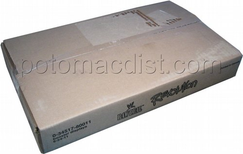 Raw Deal CCG: Revolution 1 Booster Box Case [6 boxes]