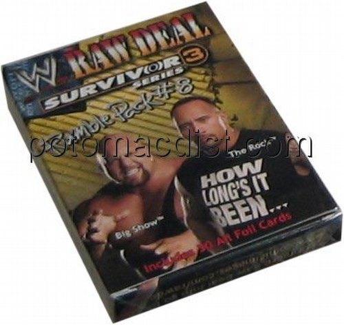 Raw Deal CCG: Survivor Series 3 Rumble Pack #8 [Rock, People