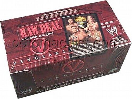 Raw Deal CCG: Vengeance Starter Deck Box