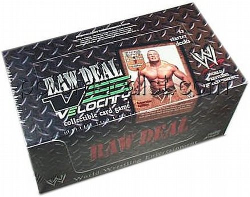 Raw Deal CCG: Velocity Starter Deck Box