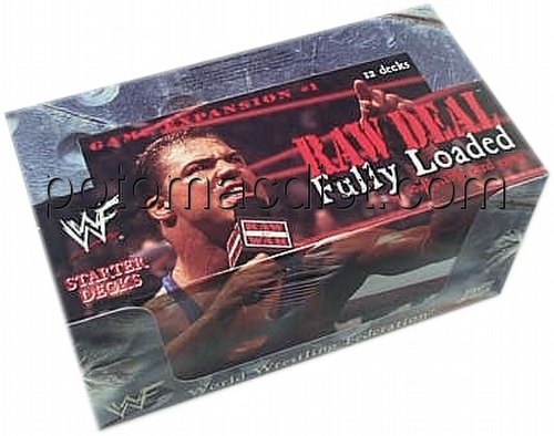 Raw Deal CCG: Fully Loaded Starter Deck Box