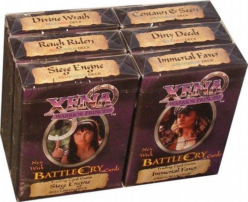 Xena: Starter Deck Set [6 decks]