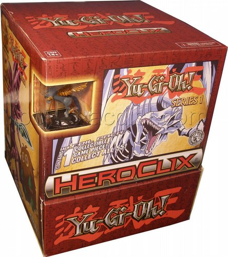 HeroClix: Yu-Gi-Oh! Series One (Series 1) Gravity Feed Box